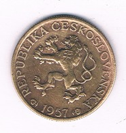 1 KORUN 1957  TSJECHOSLOWAKIJE /6467/ - Tsjechoslowakije