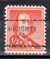 USA Precancel Vorausentwertung Preo, Locals Pennsylvania, Hershey 703 - Estados Unidos