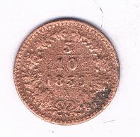 5/10 KREUZER 1859 A OOSTENRIJK /6473/ - Austria