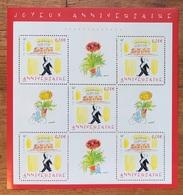 Joyeux Anniversaire Maître D'hôtel Sempé Neuf 2004 - Blocs & Feuillets