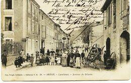 4389 - Ariége -  LAVELANET  :  Avenue De Belestat -  Circulée En 1903   ( Dos Non Séparé) - Lavelanet