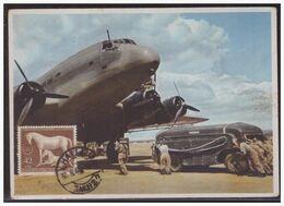 Dt-Reich (004007) Propagandakarte Farbig Junkers Und Stukas Und Lufttransporter Bild 10, Ungebraucht - Briefe U. Dokumente