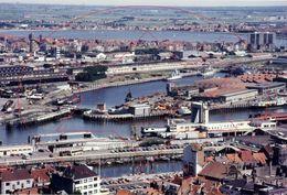 Havengebied (30 X 20 Cm) Op Afga Papier. Oostende - Ostende (Kaft 1) - Luoghi