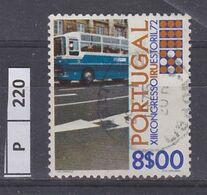 PORTOGALLO    1972Trasporti 8,00 Usato - Used Stamps