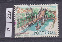 PORTOGALLO       1972Paesaggi E Monumenti 20,00 Usato - Used Stamps