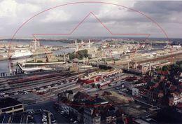 Luchtfoto's Centrum (30 X 20 Cm) Op Afga Papier. Oostende - Ostende (Kaft 1) - Luoghi