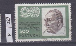 PORTOGALLO       1973Presidente Del Brasile 1,00 Usato - Used Stamps