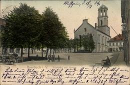 Cp Auerbach Im Vogtland, Altmarkt Mit Kirche - Deutschland