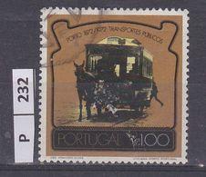 PORTOGALLO     1973Trasporti Pubblici 1 Usato - Used Stamps