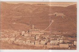 CPA-66-Pyrénées Orientales- PRATS-de-MOLLO- Vue Générale Et Le Fort Lagarde- - Andere Gemeenten