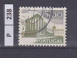 PORTOGALLO     1974Paesaggi E Monumenti 5,00 Usato - Used Stamps