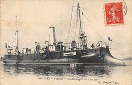 A-20-1491 : MARINE DE GUERRE. LE CONTRE-TORPILLEUR. LE VAUTOUR - Warships