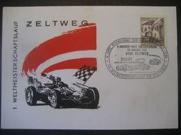 Österreich 1967- Beleg Vom 1. Weltmeisterschaftslauf Zeltweg - 1961-70 Covers