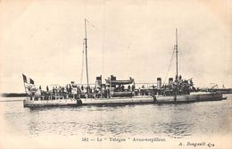 A-20-1494 : MARINE DE GUERRE. AVISO-TORPILLEUR. LE YATAGAN - Guerre