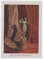 DT- Reich (004337) Kunst AK Herausgeber Kulturamt Stadt Wels, Die Venus Von Wels Blanco Gestempelt Mit SST - Briefe U. Dokumente