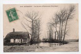 - CPA AVRIGNY (60) - La Route D'Épineuse (Paysage) - Collection M. B. 804 - - Otros Municipios