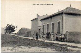MAURAN (Commune De BERRE) Les Ecoles     (1884 ASO) - Frankreich