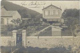 MARSEILLE LA BARASSE - LES AUBÉPINES - Animée - Carte-photo - Saint Marcel, La Barasse, St Menet