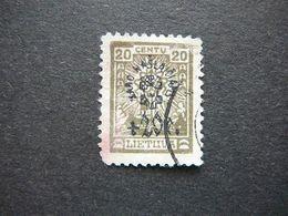 Lietuva Litauen Lituanie Litouwen Lithuania # 1924 Used # Mi.229 - Lituanie