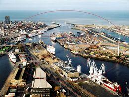 Luchtfoto Havengebied (27 X 20 Cm) Copyricht M.L Oostende - Ostende (Kaft 1) - Luoghi