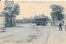 ROANNE - Octroi Et Place De La Loire - Roanne