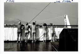 """Thème - Nudisme - Nu - FKK - Bateau """"La Perla"""" ? - Nus De Dos - Erotic & Fine Nudes (...-1960)"""