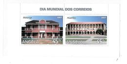 Angola 2007 World Post Day S/S MNH - Angola