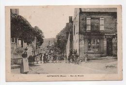 - CPA SEPTMONTS (02) - Rue Du Moulin (belle Animation) - - Otros Municipios