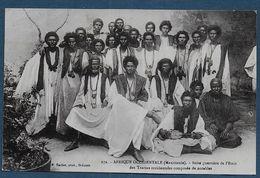 MAURITANIE - Suite Guerrière De L' Emir Des Trarzas Occidentales Composée De Notables - Mauritanie