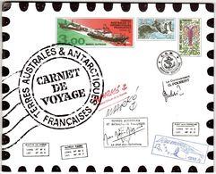 TAAF: CARNET DE VOYAGE Serge Marko. Aquarelles. TP 308/321 NEUF** TRES BEAU. - Carnets