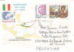 ITALY - AEROGRAMME 2004 - RIO GRANDE/ARGENTINA //ak890 - Entero Postal