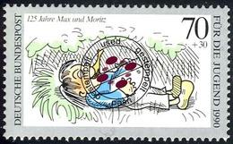 1456 Jugend Max Und Moritz 70+30 Pf O - [7] Repubblica Federale