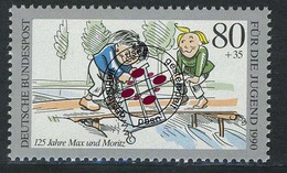 1457 Jugend Max Und Moritz 80+35 Pf O - [7] Repubblica Federale
