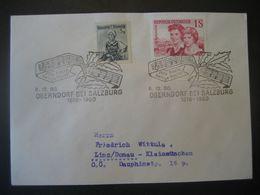 Österreich- Oberndorf 6.12.1960 Beleg Mit Sonderstempel - 1945-60 Storia Postale