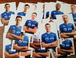CYCLISME: CYCLISTE : EQUIPE NTT OFFICIELLE 2020 COMPLETE - Cycling