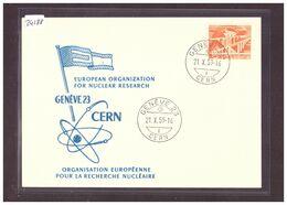 FORMAT 10x15cm - GENEVE - CERN - NUCLEAR RESEARCH - RECHERCHE NUCLEAIRE - TB - GE Ginevra