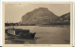 38 - GRENOBLE - L ' ISERE & Le Casque De Néron    BA - Grenoble
