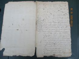 5 JUIN 1769 HONFLEUR CONTRAT DE MARIAGE ENTRE THOMAS PREVOST MARIN ET ANNE HEMERY - Manuskripte
