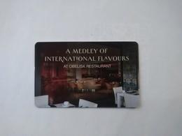 Jordan Hotel Key, Kempinski Hotel Ishtar ,  Dead Sea , Jordan  (1pcs) - Cartas De Hotels