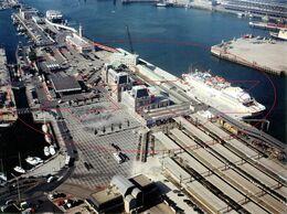 Havengebied. (25,5 X 18,5) Oostende - Ostende (Kaft 1) - Luoghi