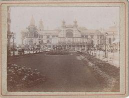 Photo Ancienne 105 Mm X 79 Mm Sur Carton - 1903 - Casino Ostende Belgique - Scan R/V - Places