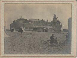 Photo Ancienne 105 Mm X 79 Mm Sur Carton - 22 Aout 1902 - Casino De Calais 62 (P.d.C.) - Scan R/V - Places
