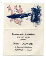 Calendrier Montargis Poissonnerie Laurent - Calendari