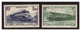 Timbre N° 339 Et 340 Neufs ** - Unused Stamps