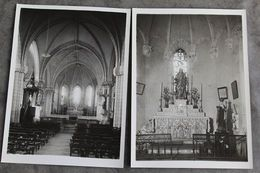Adriers 2 Photos Intérieur église Rares 032CP06 - Orte