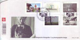 Belgio 2008 - La Fotografia, 5v Da Foglietto Su FDC. Annullo Figurato - FDC