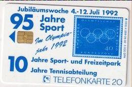 TK 26514 GERMANY - Chip K989 06.92 Stamp 3 000 Ex. MINT! - Postzegels & Munten
