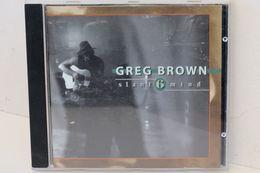 """CD """"Greg Brown"""" Slant 6 Mind - Country Et Folk"""