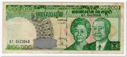 CAMBODIA,100 000 RIELS,1995,P.50,aVF - Cambodja