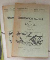 Détermination Pratique Des Roches, 2 Tomes - Sciences